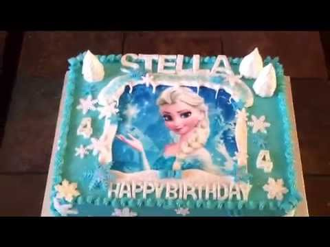 Frozen Cake Snow Queen Elsa Youtube