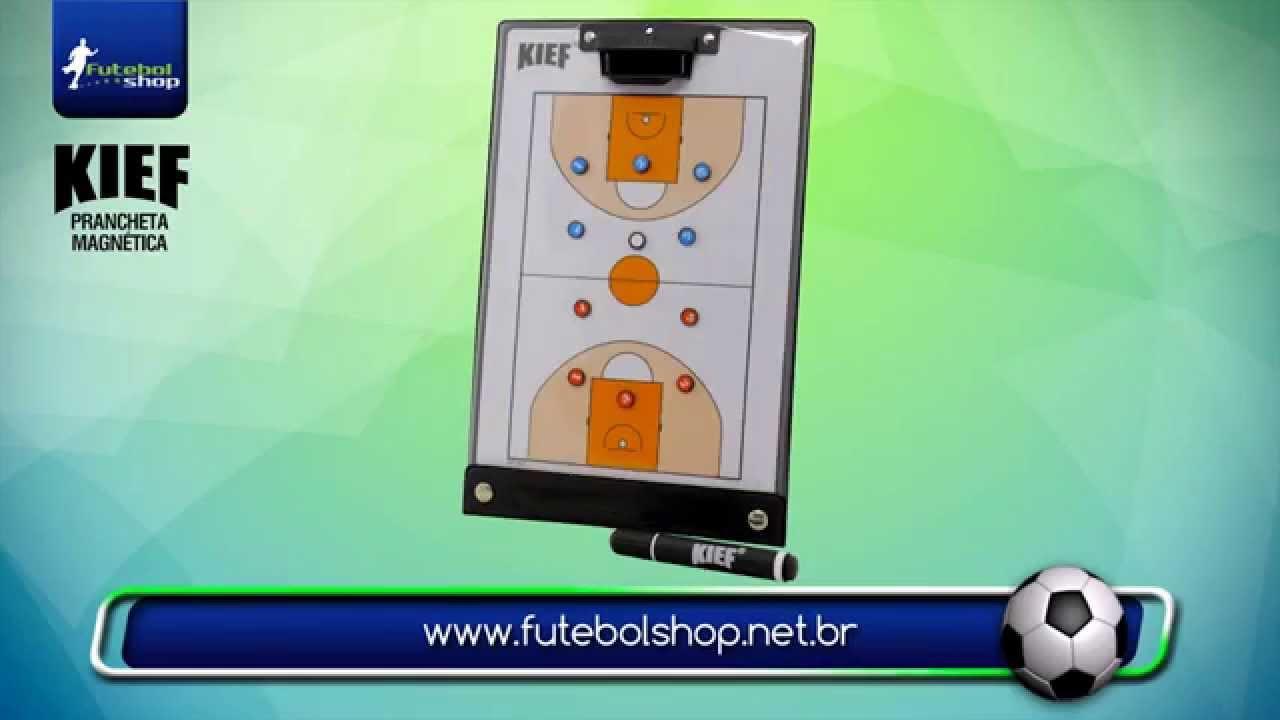 Prancheta Tática Magnetica Kief. Futebol Shop 01a2d48362c36