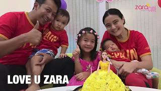 Video Zara Cute Tiup Lilin Ulang Tahun ke 6 | Selamat Ulang Tahun Anak Perempuan | Pudding Unik Barbie download MP3, 3GP, MP4, WEBM, AVI, FLV September 2018