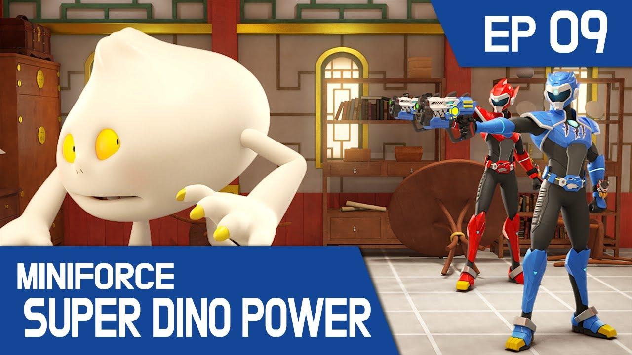 [MINIFORCE Super Dino Power] Ep.09: Kungfu Dumplings and the Magical Chopsticks