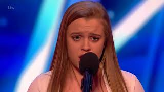 14.y.o Girl Leaving the Judges Open Mouthed With Her Talented Voice | Week 6 | BGT 2017
