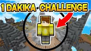 1 DAKİKA CHALLENGE ! - Minecraft SKYWARS