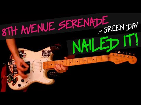 8th Avenue Serenade - Green Day guitar cover by GV +chords