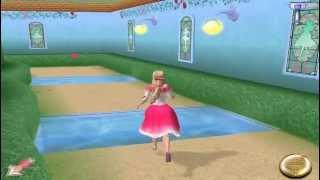 Игра Барби / Barbie 12 Танцующих принцес. Королевский парк