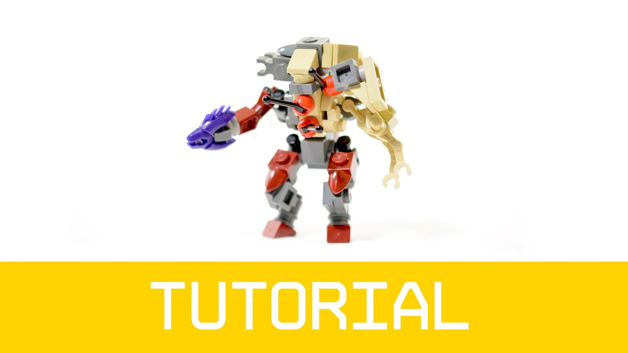 LEGO Halo Flood Elite Combat Form Tutorial - YouTube
