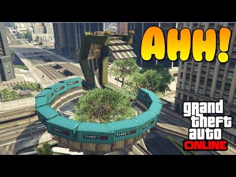 AHH! UNA SERPIENTE!! - Gameplay GTA 5 Online Funny Moments (Carrera GTA ...