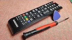 REPAIRING A SAMSUNG TV REMOTE CONTROL(complementary)Cómo reparar el control remoto de Samsung