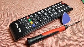 REPAIRING A SAMSUNG TV REMOTE CONTROL(complementary)