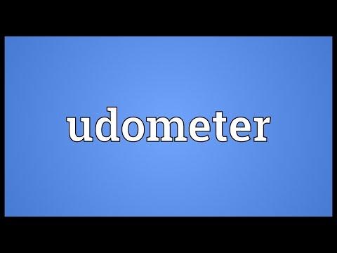 Header of udometer