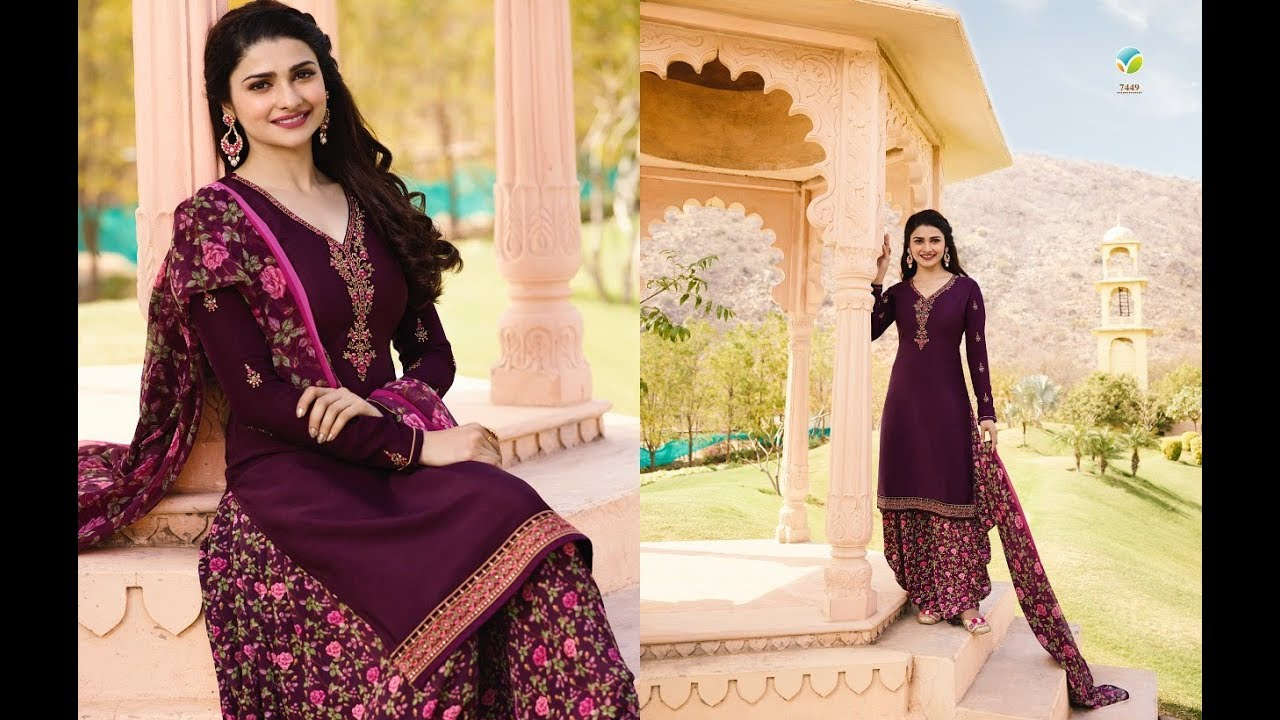a518ab5c61 Latest Indian Dresses Collections 2018 || Vinay Fashion || Silkina Royal  Crape-16