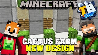 Truly Bedrock E88 New Cactus Farm Design with Foxynotail | Minecraft Bedrock