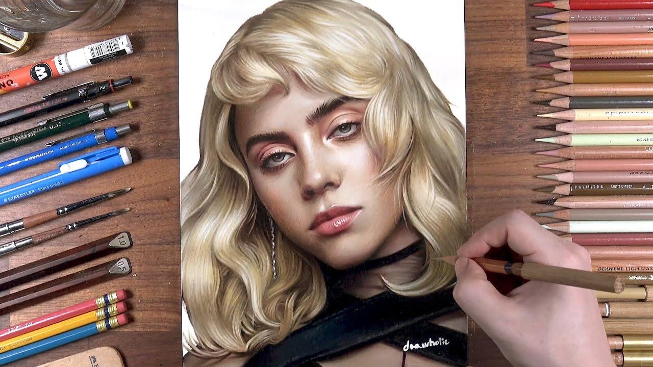 Drawing Billie Eilish | drawholic