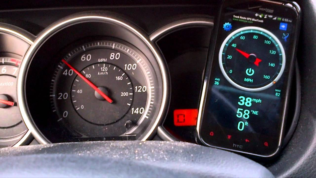 2011 Nissan Versa Speedometer Problem - YouTube
