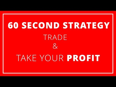 60 Seconds Binary Options Trading Strategy