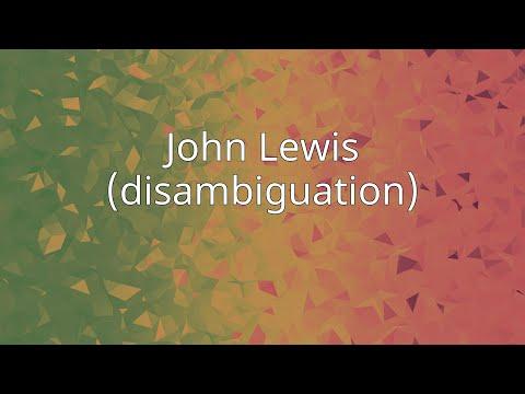 John Lewis (disambiguation)
