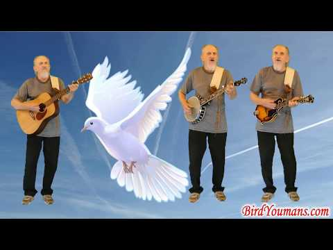 On the Wings of a Dove an old favorite country Gospel song by Bird Youmans