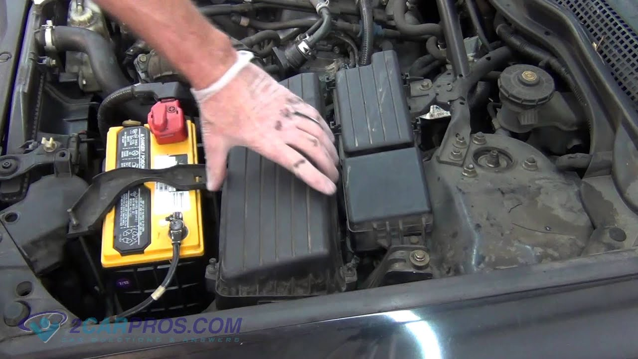 Air Filter Replacement Acura TSX YouTube - Acura tsx air filter
