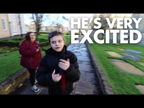 HE'S BACK, AND HE'S VERY EXCITED! | FAMILY VLOG | VLOGMAS DAY 10