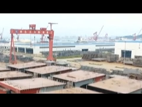 China launches world's largest ore ship