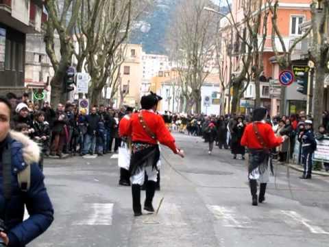 Download Carnevale Sardo Nuoro 12 marzo 2011 Mammuthones pt. 1