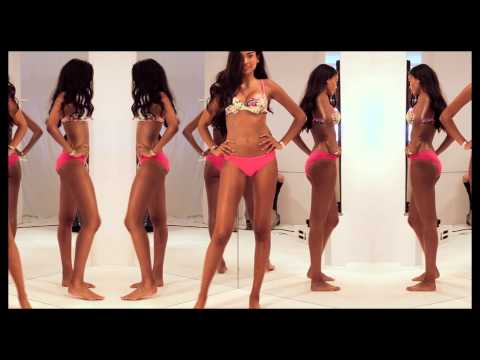 Go behind the scenes with Kelly Gale in the new Bonds Hi Bikini range