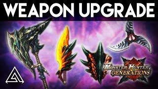 Monster Hunter Generations | New Weapon Upgrade System Explained