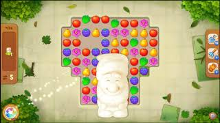 Gardenscapes Level 476 No Booster 🌲  l MiniGames