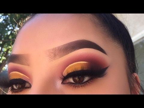 Yellow Sunrise Makeup Tutorial | Jocy Reyes