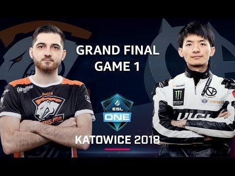VG vs VP - ESL One Katowice 2018 Final G.1