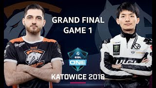 Dota 2 - Virtus.pro vs. ViCi Gaming - GRAND FINAL - Game 1 - ESL One Katowice Major 2018