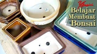 Macam dan Bentuk Pot Bonsai Keramik