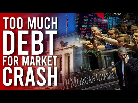 JPMorgan Concludes The World Is Drowning In Too Much Debt For 2020 Stock Market CRASH