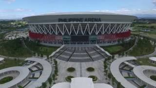 Philippine Arena, Guinness World Record holder of the largest mixed-use theatre