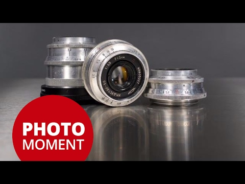 Vintage Russian M39 Screw Mount Lenses ► Thats A Nice Piece Of Glass!