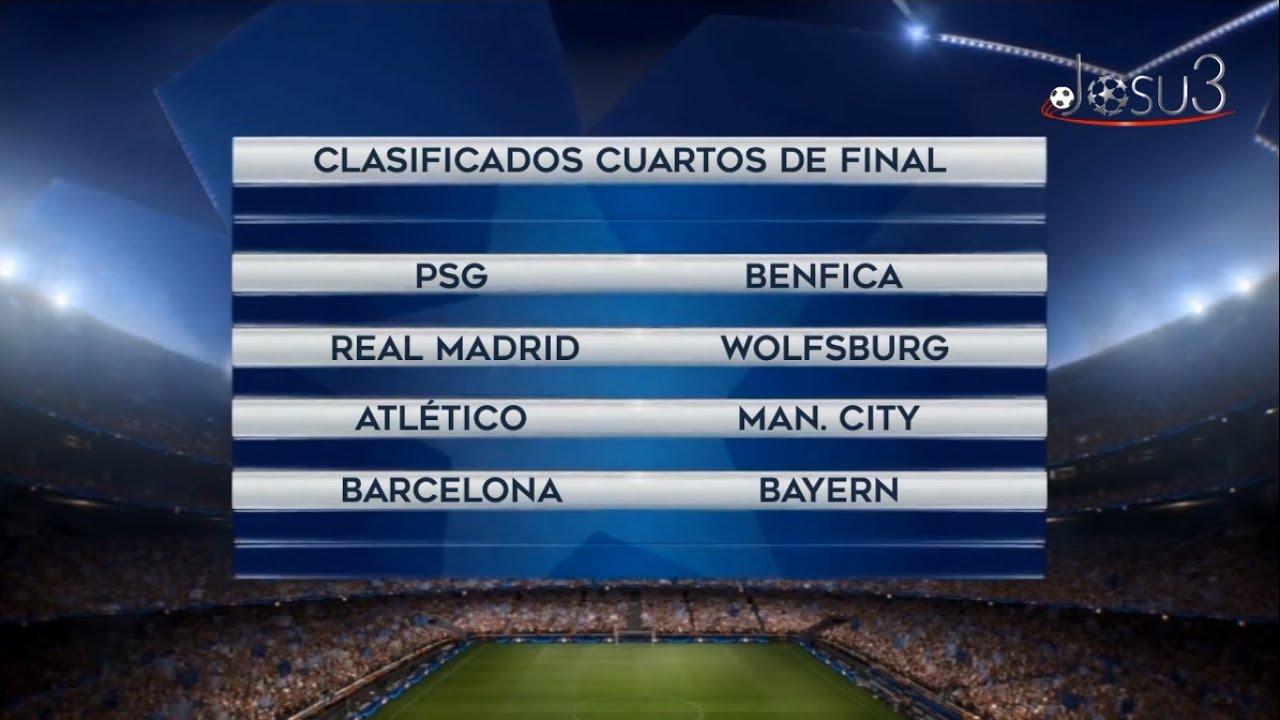 fc barcalona - Free Printable Uefa Champions League 2016 17 Cuartos ...