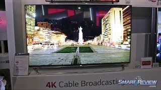 CES 2014 | LG 4K Ultra HD TV Lineup | UHD TV Features | LED and OLED | SmartReview.com