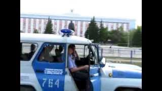 Барнаул, Нулевой километр, 8 июня 2012 г.