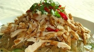 Как приготовить салат из куриной грудки. | How to prepare a salad with chicken breast