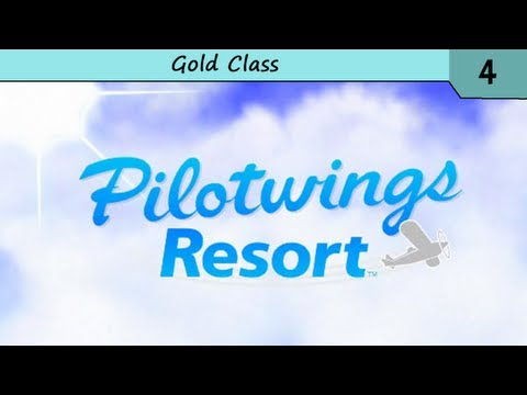 Pilotwings Resort - Mission Mode - Gold Class (3 Stars)