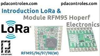 Introduction LoRa & Module RFM95 Hoperf Electronics - Introduccion LoRa & Modulo RFM95  : PDAControl