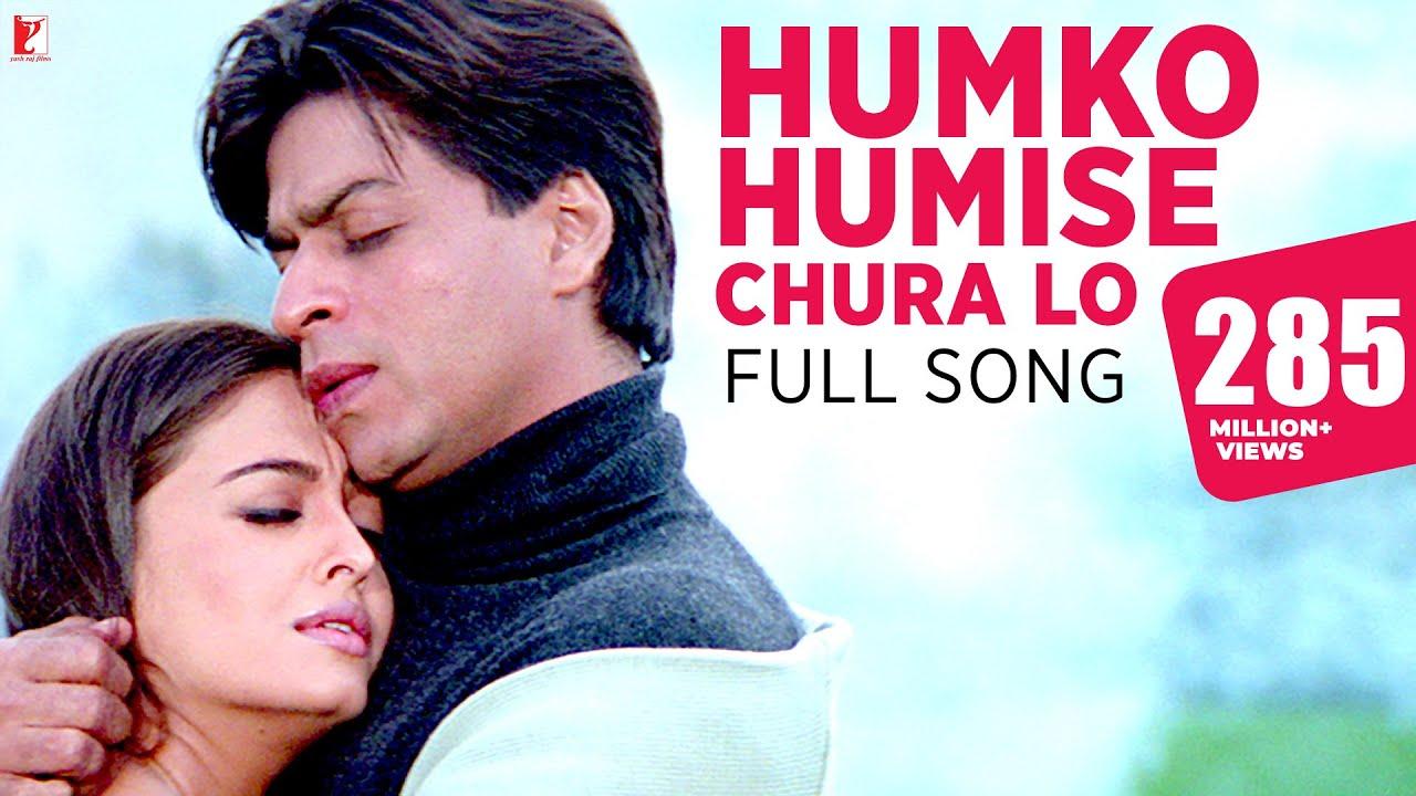 Humko Humise Chura Lo Song   Mohabbatein   Shah Rukh Khan, Aishwarya Rai   Lata Mangeshkar, Udit N