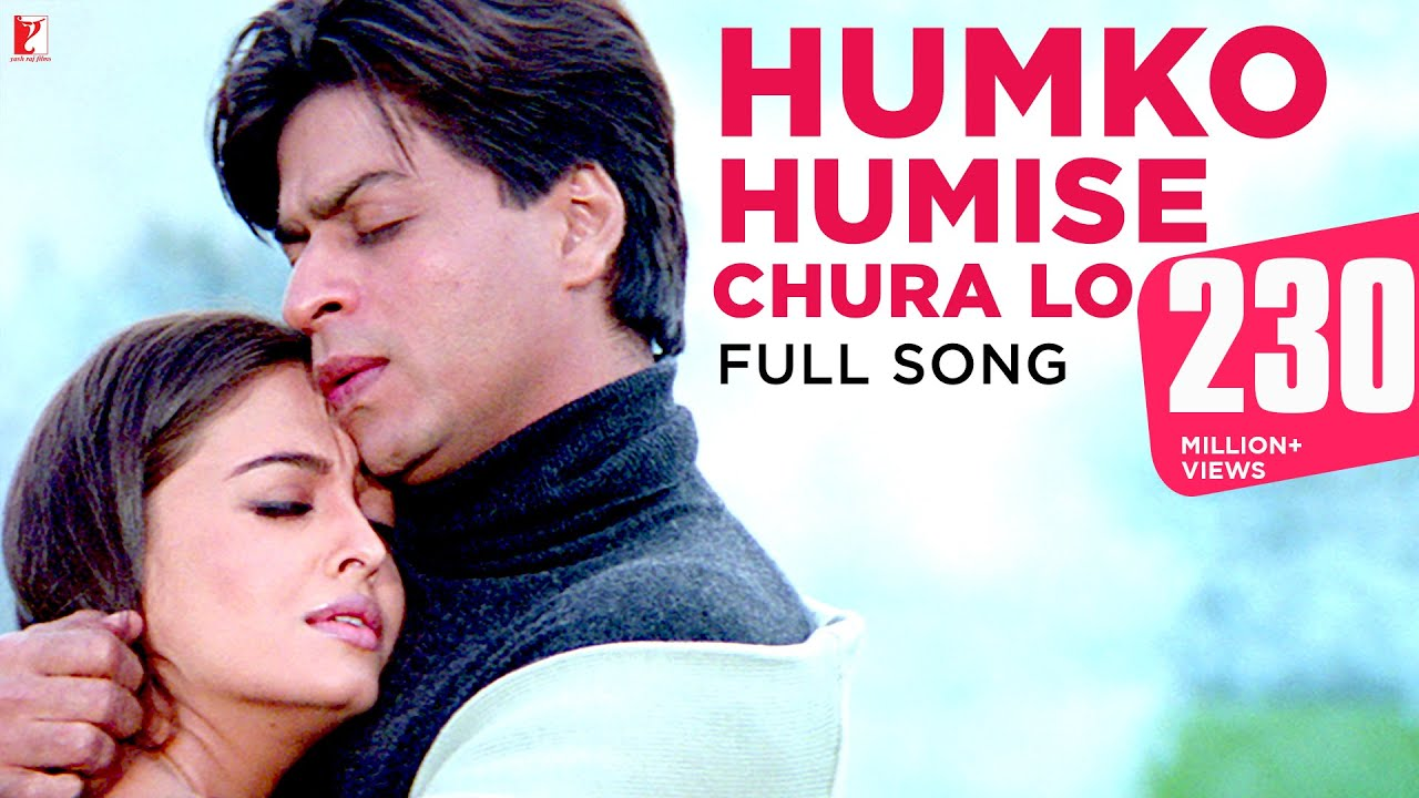 Download Humko Humise Chura Lo - Full Song | Mohabbatein | Shah Rukh Khan | Aishwarya Rai | Lata | Udit