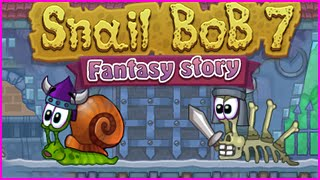 Snail Bob 7 Fantasy Story Level 1-30 Walkthrough