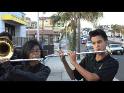 San Pedro High School Band 2013-2014 Slide Show and Gag awards