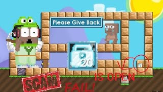 Scammer Fail 1 DL (2017) | Growtopia
