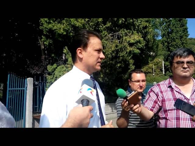 Valentin Jucan la TVR Cluj
