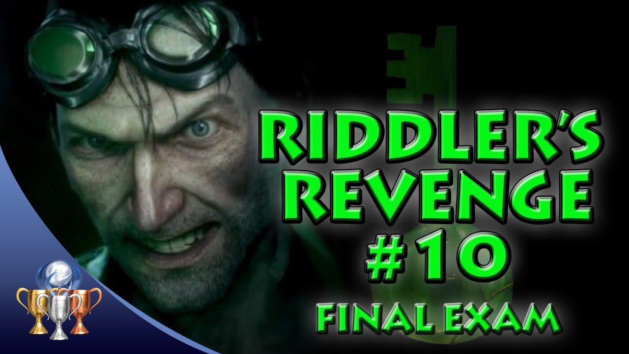 Batman Arkham Knight - Riddler's Revenge Quest Trial (10 ...