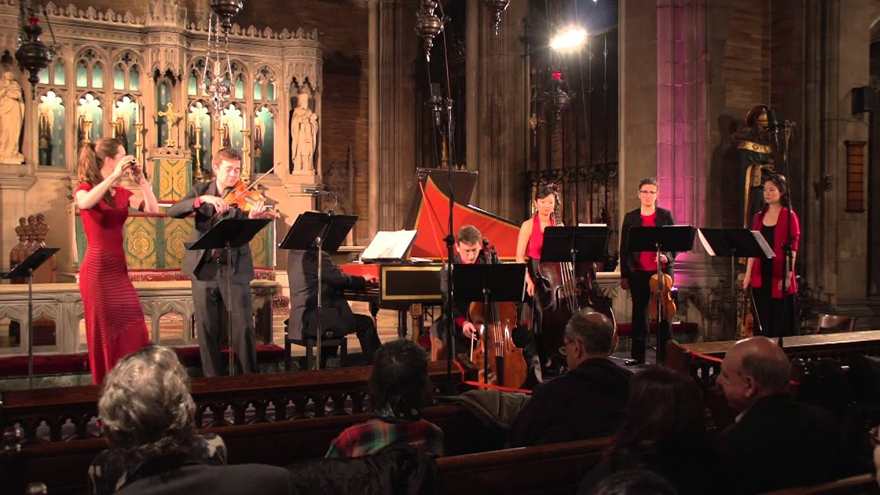 Bach Brandenburg Concerto No. 5, performed by New York Baroque Incorporated and John Scott