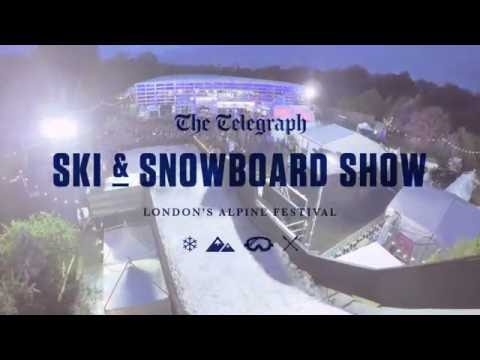 TRAILER: The Telegraph Ski & Snowboard Show returns to Battersea Park
