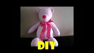 Como fazer urso de tecido com molde